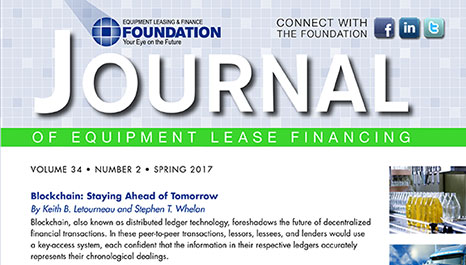 Journal of Equipment Lease Financing